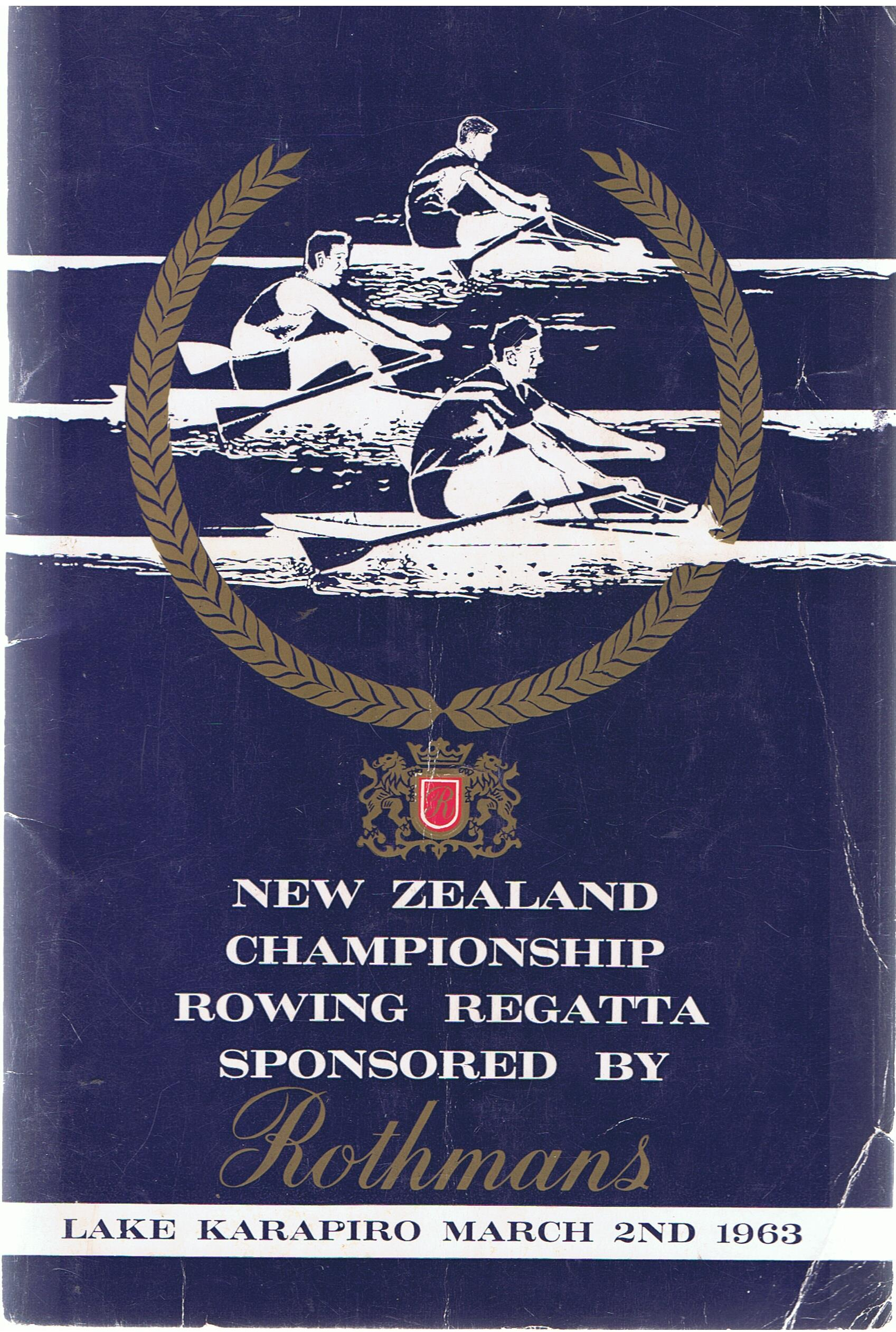 Image for New Zealand Championship Rowing Regatta 1963. Lake Karapiro.
