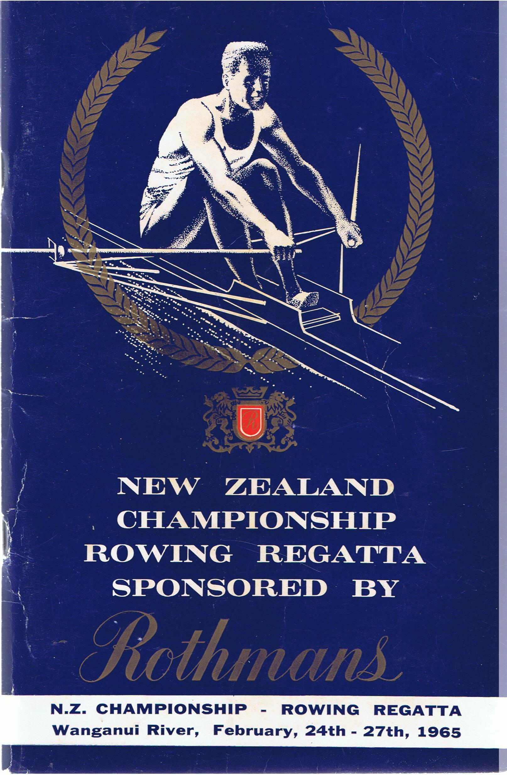 Image for New Zealand Championship Rowing Regatta 1965. Wanganui River.