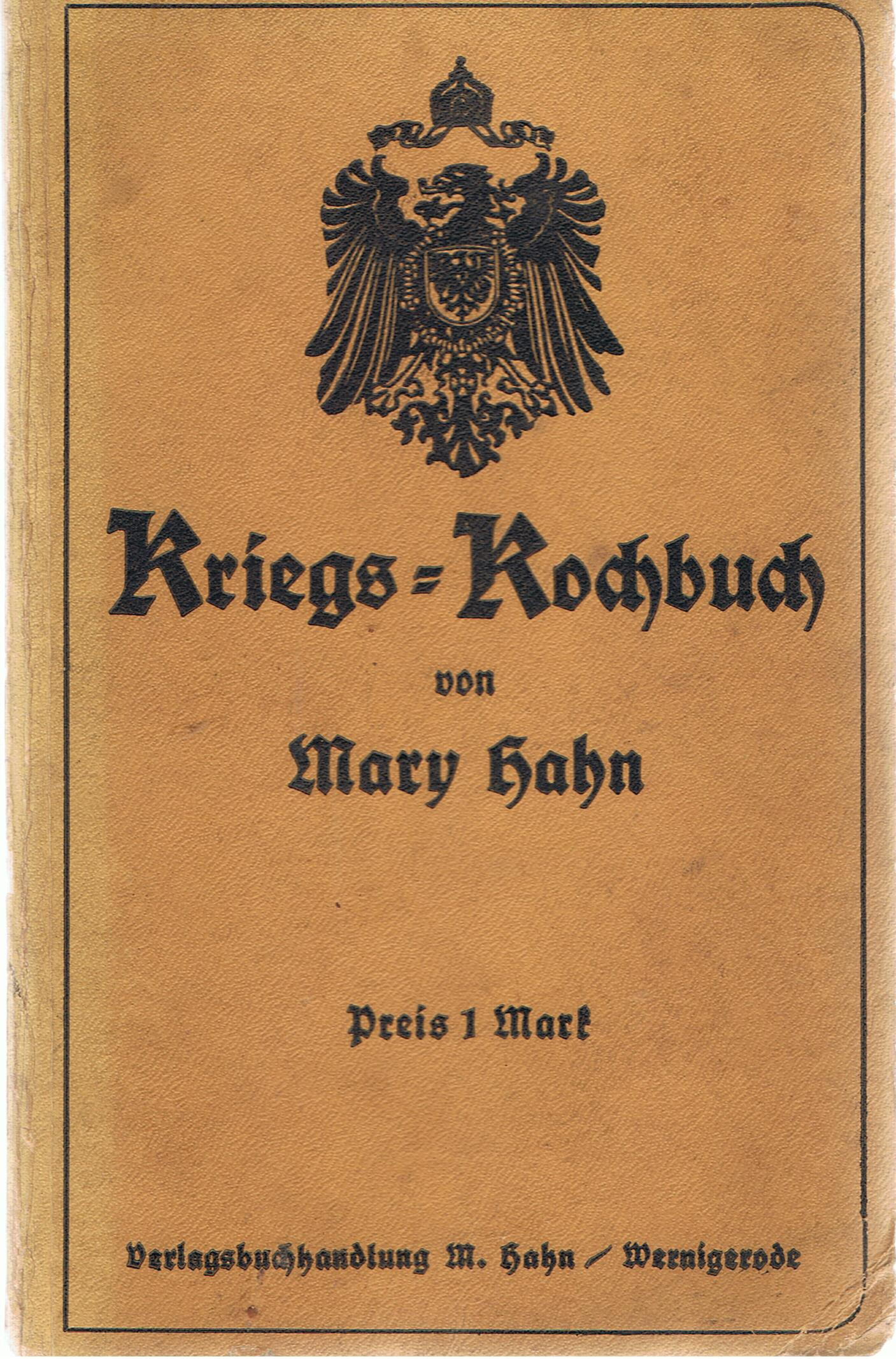 Image for Kriegs-Kochbuch