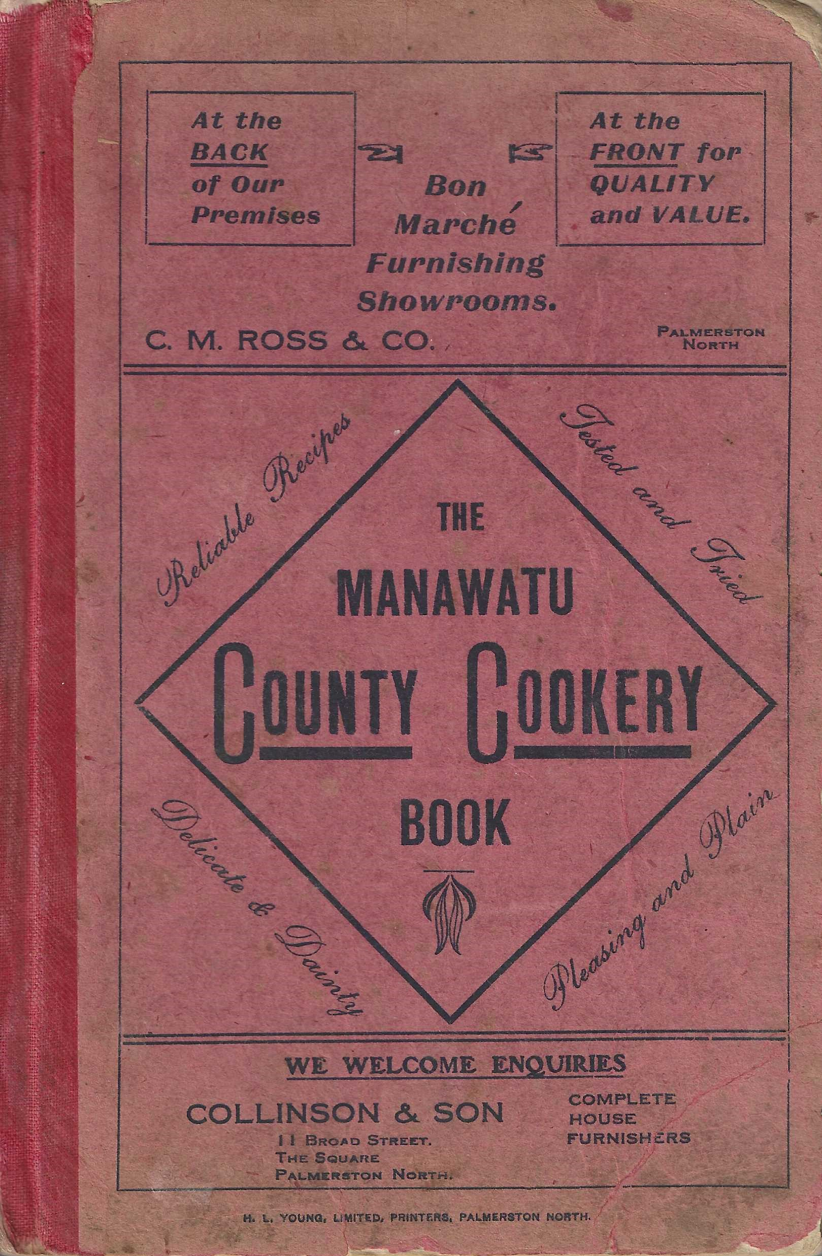 Image for Manawatu County Cookery Book