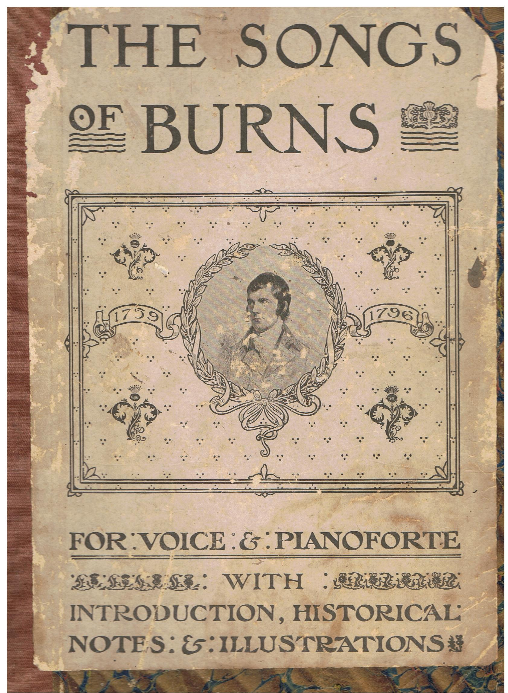 Image for The Songs of Burns with Symphonies and Accompaniments.