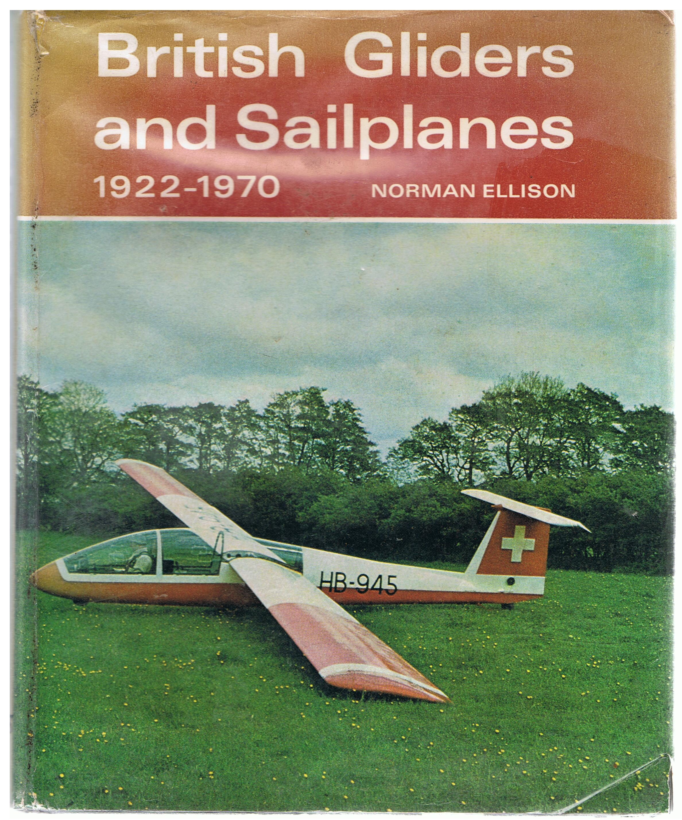 Image for British Gliders and Sailplanes, 1922-1970.