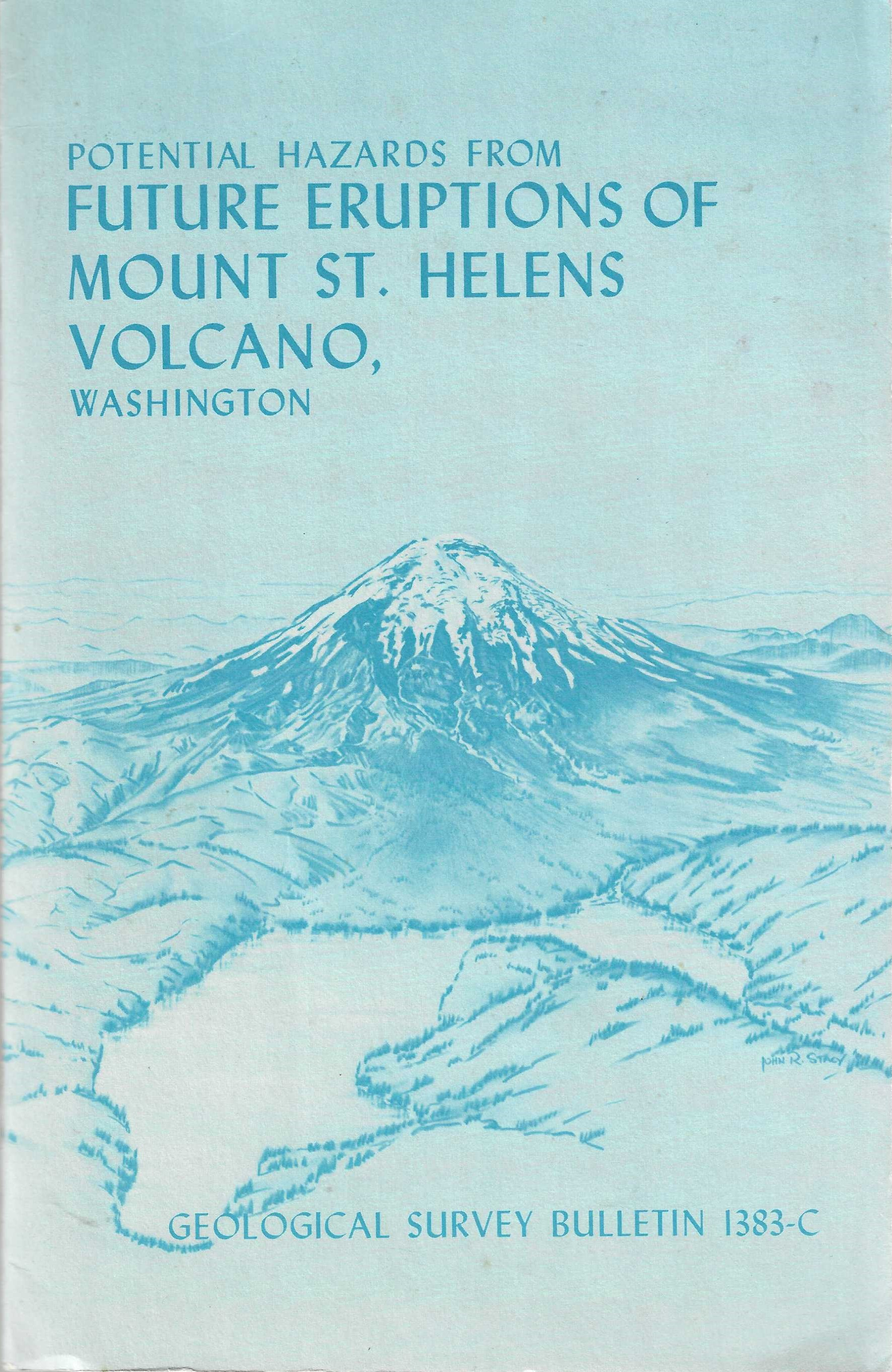 Image for Potential Hazards from Future Eruptions of Mount St. Helens Volcano, Washington.Geological Survey Bulletin 1383-C